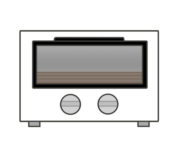 オーブントースターのイラスト