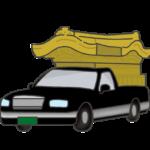 霊柩車のイラスト