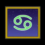 蟹座のシンボルイラスト