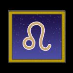 獅子座のシンボルイラスト