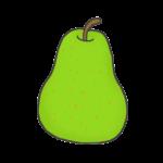 洋梨のイラスト