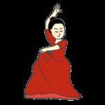 フラメンコダンサーのイラスト