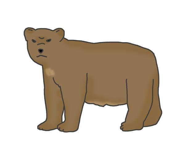 熊のイラスト