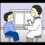 診察のイラスト(男の子)