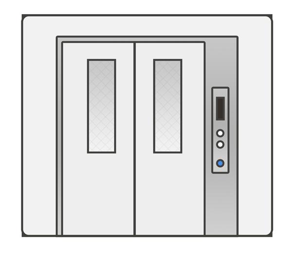 エレベーターのイラスト