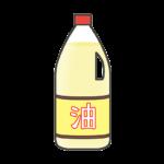調理油のイラスト