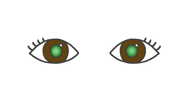 緑内障のイラスト
