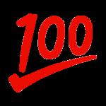 100点満点のイラスト