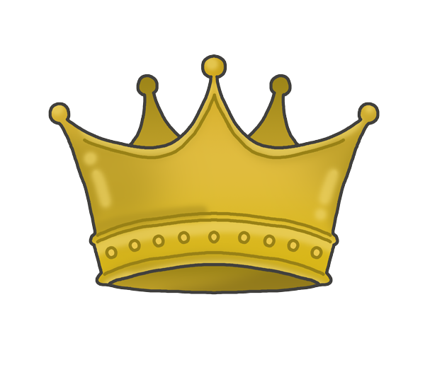 王冠のイラスト