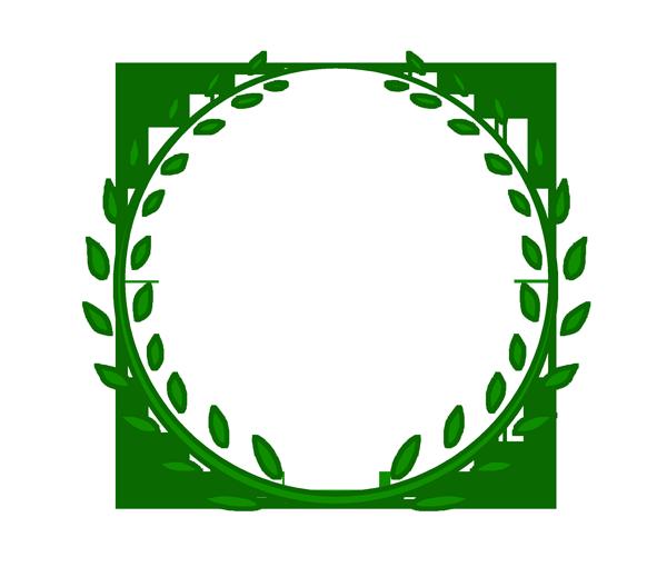 月桂樹のイラスト