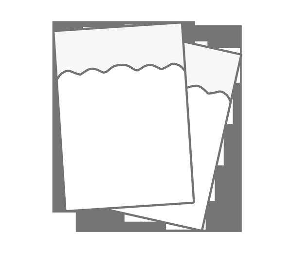 紙ナプキンのイラスト
